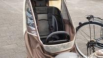 子乗せ自転車にレインカバーを取り付けるとき。雨よけや寒さ対策など