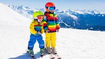 【体験談】子どものスキー用品の選び方。スキー板やブーツを選ぶ目安