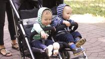 兄弟のベビーカー事情。二人乗りのベビーカーを用意するか考えるとき