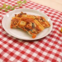 離乳食後期に。フライパンで簡単!ボリュームたっぷりの野菜オムレツ