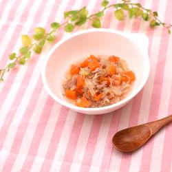 離乳食後期に。レンジで簡単!にんじんとキャベツの柔らか煮