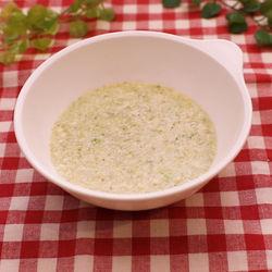 離乳食初期に。ブロッコリーと豆腐のだし煮