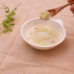 離乳食中期に。キャベツと玉ねぎのお麩ミルク煮