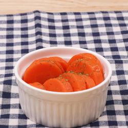 作り置きレシピに。人参のレンジグラッセ