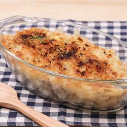 油で揚げない時短レシピ。焼きチーズコロッケ