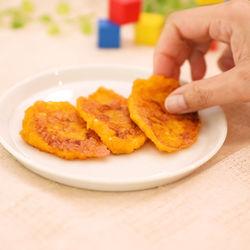 離乳食後期のレシピに。豆腐かぼちゃおやき