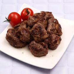 作り置きレシピ。肉巻きエリンギのサイコロステーキ風