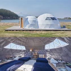 日本初ツインドーム上陸!最新グランピング施設「GLAMPROOK(グランルーク)」オープン