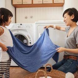 夕方の家事効率の肝は洗濯と台所の動線。リフォームせずに解決する時短のコツ