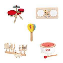 音遊びを通して子どものリズム感覚を育むパーカッションおもちゃ5選