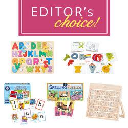 英語に親しむ最初のステップに。アルファベットを学ぶ知育おもちゃ5選