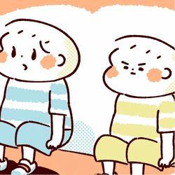 【ふたご育児】第43話 双子の靴のはきちがい
