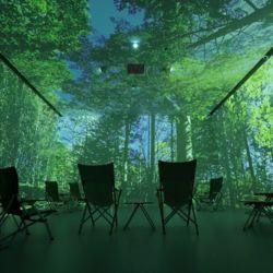 十勝浦幌町に「デジタル森林浴」を体感できる施設がオープン