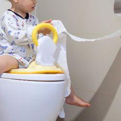 シールを使ったトイレトレーニング大作戦。手作り台紙や電車のシールでやる気アップ