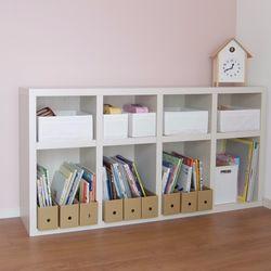 子どものおもちゃ収納術。ボックスの活用アイディアや片づけやすい環境づくり