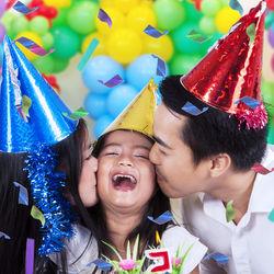 子どもの誕生日パーティー。かわいい飾り付けで最高の思い出に