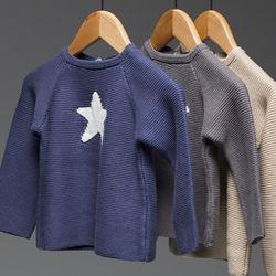 子ども服のセーターの種類や選び方。寒い季節にぴったりの素材は