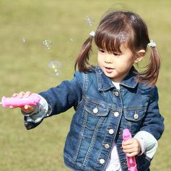 3歳の子どもの喜ぶ外遊び。公園やアウトドア、バーベキューでできる遊びとは
