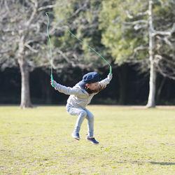子どもの縄跳びは何歳から?2歳から6歳の年齢別の取り入れ方