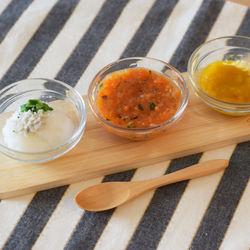 離乳食中期の魚の進め方や、先輩ママの作ったレシピや冷凍方法を紹介