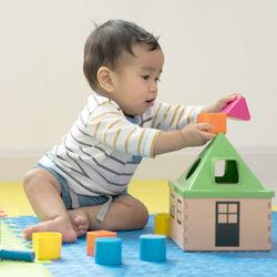 生後8カ月の赤ちゃんに人気のおもちゃ。手作りや知育玩具、遊ばないときの工夫など