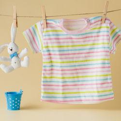 生後7カ月の女の子の赤ちゃんの夏の服装について。セパレートタイプの洋服など