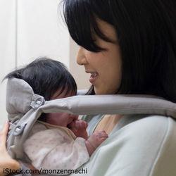 新生児の赤ちゃんに使える抱っこ紐。種類や選ぶ際のポイント
