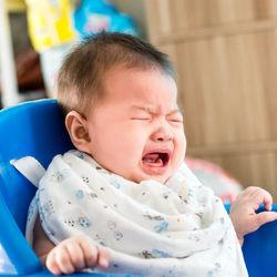 生後7ヶ月の赤ちゃんが離乳食を食べない。完母や完ミ、嫌がって泣くときの対処法