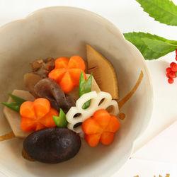お食い初めの煮物について。具材の意味や白だしを使った簡単な作り方