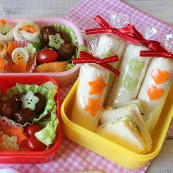 運動会のサンドイッチ。かわいいロールサンドのレシピや前日にした具材の準備、詰め方のコツ