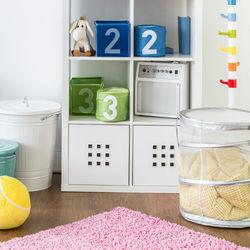 子ども部屋のおもちゃ収納のポイントや工夫。グッズを使ったおもちゃ収納のアイデア