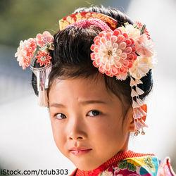 7歳の七五三の髪飾り。種類や手作りなどの用意の仕方