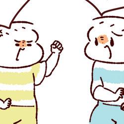 【ふたご育児】第77話 4歳ふたご喧嘩の様子