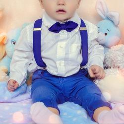 ハーフバースデーの赤ちゃんの衣装選び。男の子女の子別のポイント