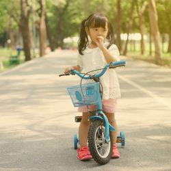 4歳の子どもの自転車選び。インチ数や練習で気をつけること