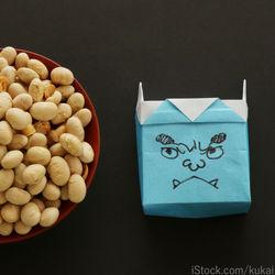 節分の豆入れを作ろう。折り紙や牛乳パックを使った作り方