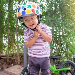 幼児用ヘルメットの選び方。ヘルメットの種類やサイズなど
