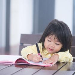 4歳の子どものお絵かき。絵の具などの道具選びやお絵かき遊び
