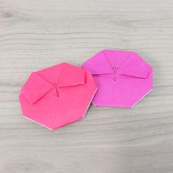 折り紙「梅の花」の折り方