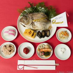 お食い初めの順番について。煮物や歯固めの石など用意したもの