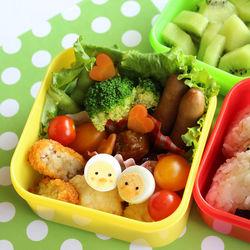 保育園児のお弁当。1歳から5歳までの子どもが喜ぶご飯やおかず