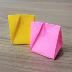 折り紙「バッグ」の折り方