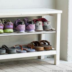 子ども靴の収納。DIYアイディアやサイズアウトした靴の保管方法