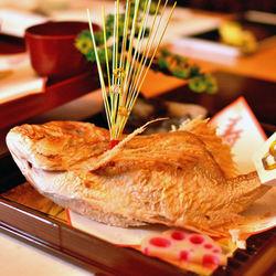 お食い初めの鯛の飾り方や飾り付け