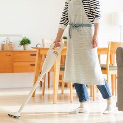 ワーママの時短掃除のやり方。効率よく掃除できる道具や家電など