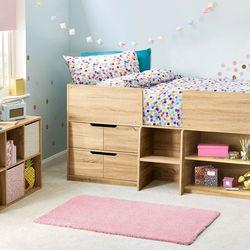 狭い子ども部屋をつくるとき。家具の選び方やレイアウト