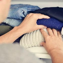 パパの衣替え。断捨離や収納の仕方を考えよう