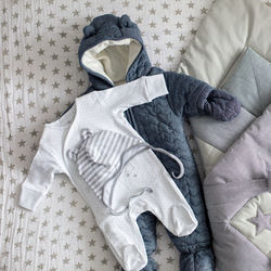 ベビー服のアウターの選び方。子ども体に合うサイズのアウターを準備しよう