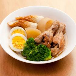 【離乳食時期別】鶏肉と大根の煮物レシピ。時短で作る煮物の離乳食