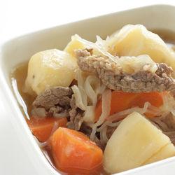 牛肉とじゃがいもを使った離乳食レシピ。離乳食後期・完了期のメニュー